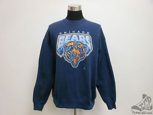 Vtg 90s Pro Player Chicago Bears Crewneck Sweatshirt sz 2XL 2X Large NFL  Vintage by TCPKickz on Etsy