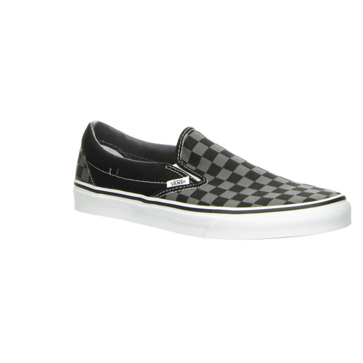 Vans Classic Slip-On Schwarz/grau kariert - Vans sind ohnehin cool ...