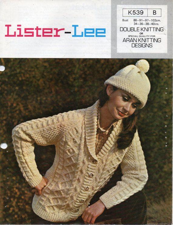 Resultado de imagen de aran knitting patterns ladies | punto aran ...