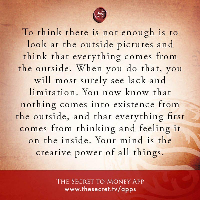 The Secret Quotes Pinmayra Ruiz On Motivation  Pinterest  Affirmation .