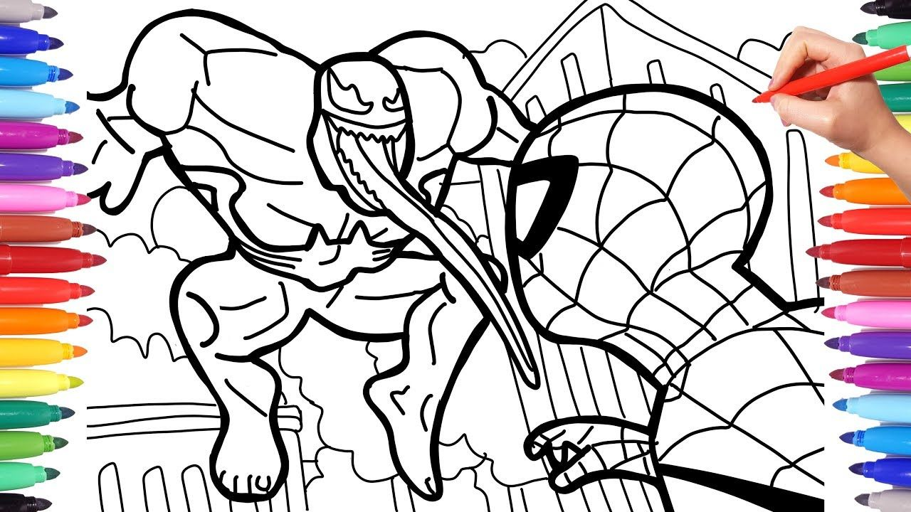 Spiderman Coloring Youtube Spiderman Coloring Coloring Pages Love Coloring Pages