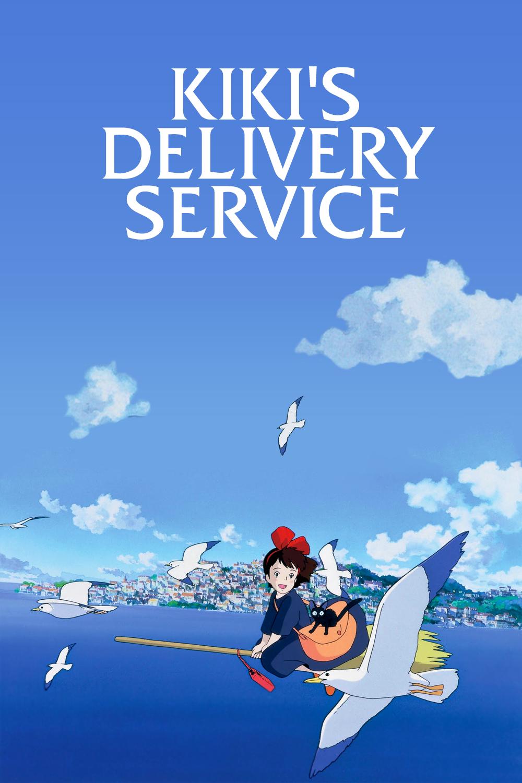 Kiki's delivery service | Studio ghibli poster, Studio ghibli movies,  Ghibli artwork
