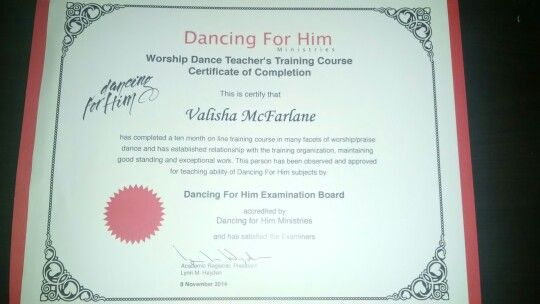 Worship Dance Teacher Certification To God Be The Glory
