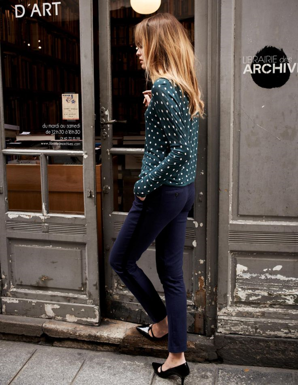 Fashion Lookbook   Girl About Town - DustJacket Attic