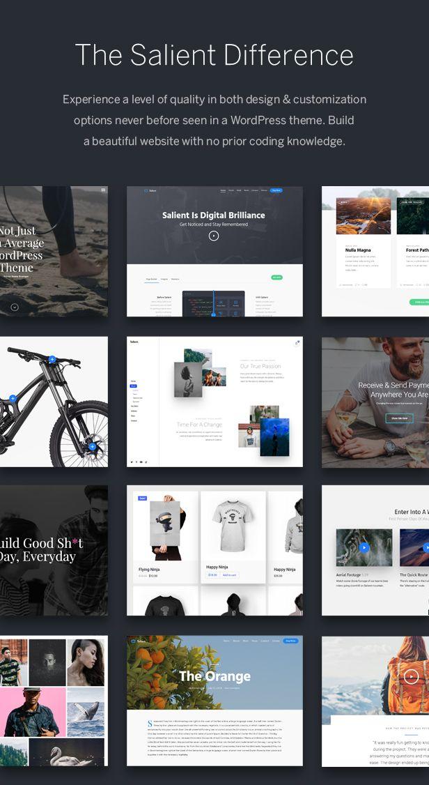 Salient – Amazing Responsive Multi-Purpose Theme » Responsive Web ...