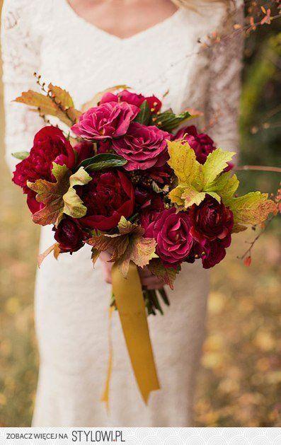 Jesienny Bukiet Slubny Wiecej Na Prettyday Pl Na Stylowi Pl Flower Bouquet Wedding Fall Flower Wedding Bouquets Fall Wedding Bouquets