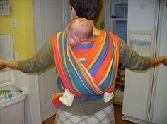 Back Carry Tutorial Babywearing