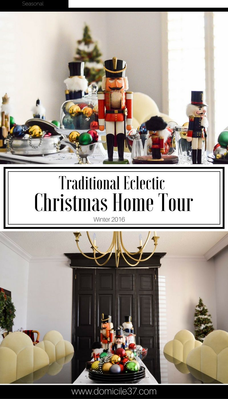 Get inspired as I share two unique holiday concepts in the winter eclectic home tour. 25 stylist help round up this holiday tour, inspiration galore.