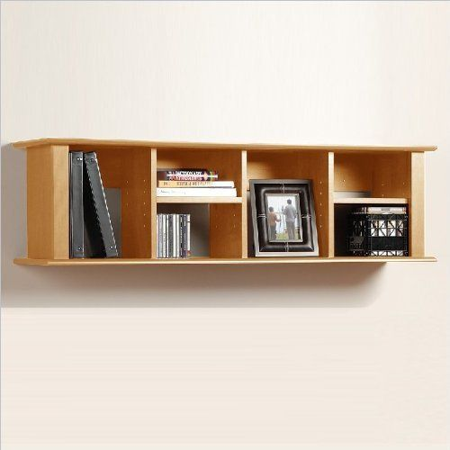 Prepac Sonoma Maple Wall Mount Bookcase By Prepac Manufacturing 90 67 Proudly Manufactured In North Americ Bookshelves Diy Floating Shelves Wall Bookshelves