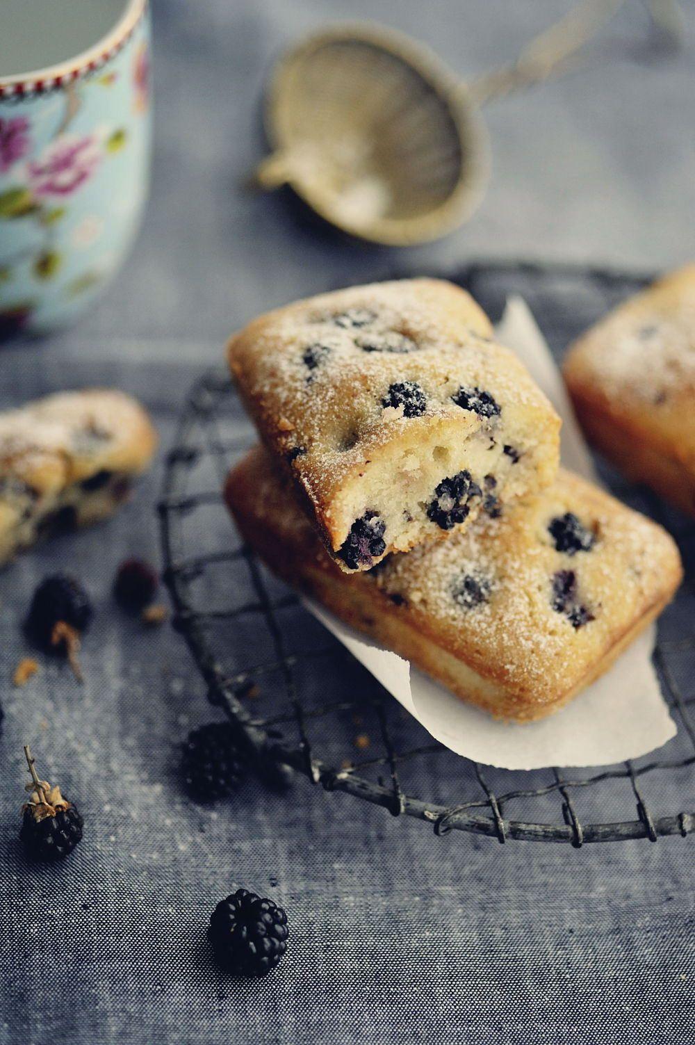 Financiers aux Mûres. #food #blackberries #cake