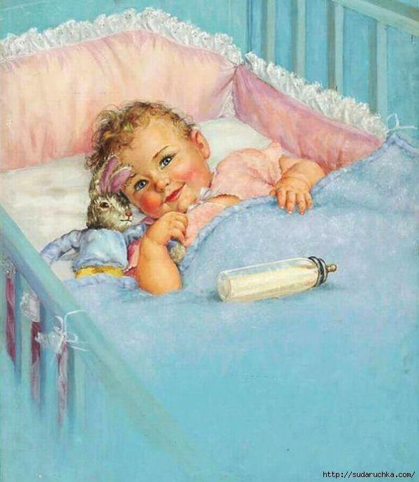 Открытки маленьких детей новорожденных, открытки