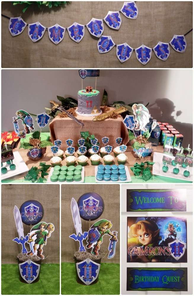 Legend Of Zelda Birthday Party Ideas In 2019