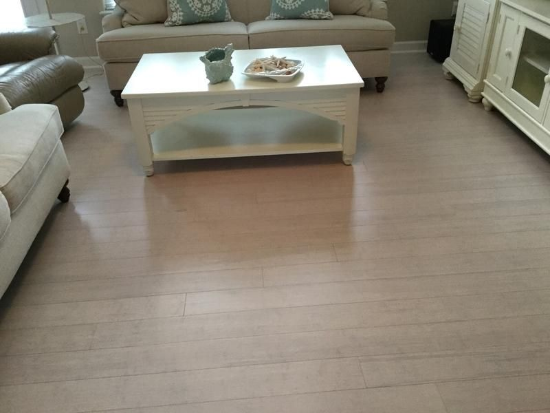 Pearl City Bamboo Hated The Golden Hardwood Floors That Were In Our Family Room When We Bought It 12 Bamboo Flooring Lumber Liquidators Hardwood Flooring
