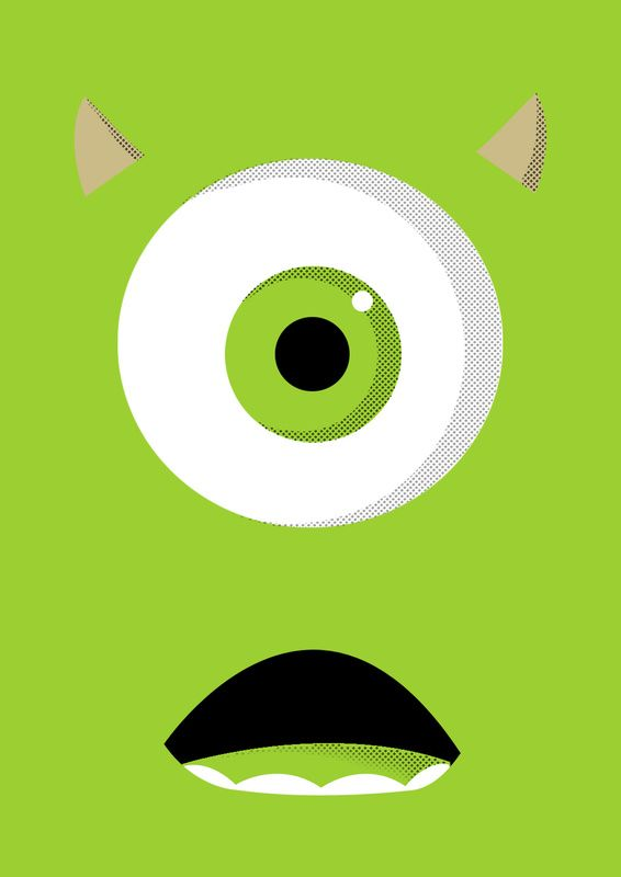 Mike Wazowski Baby Wallpaper Images Pictures Becuo Disney Canvas Paintings Cartoon Wallpaper Disney Canvas