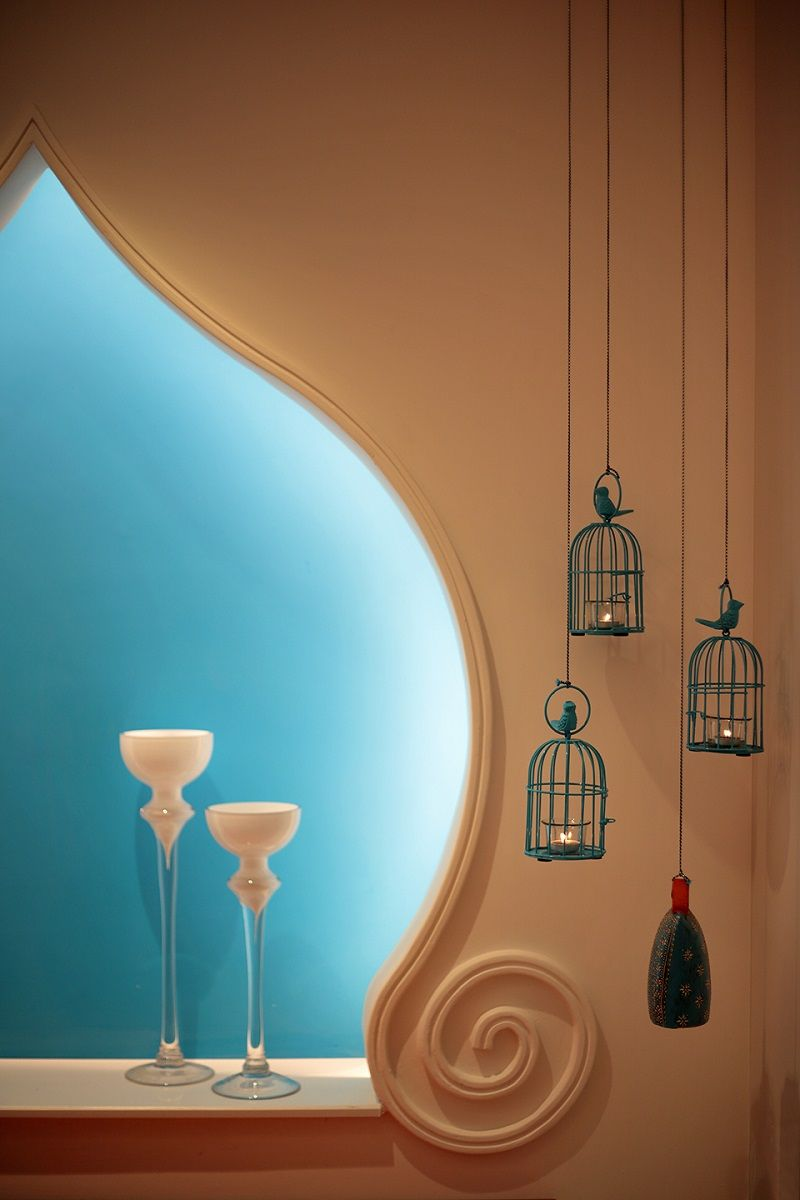 Photo of Mediterranean decor style living room.