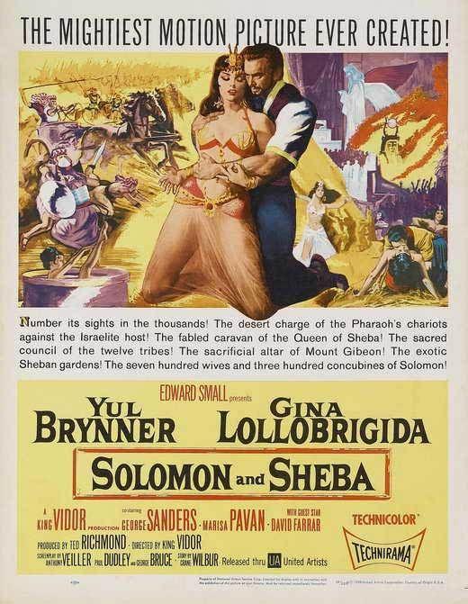 Pin By David Meneces On Tv Moderno: Solomon And Sheba (1959)