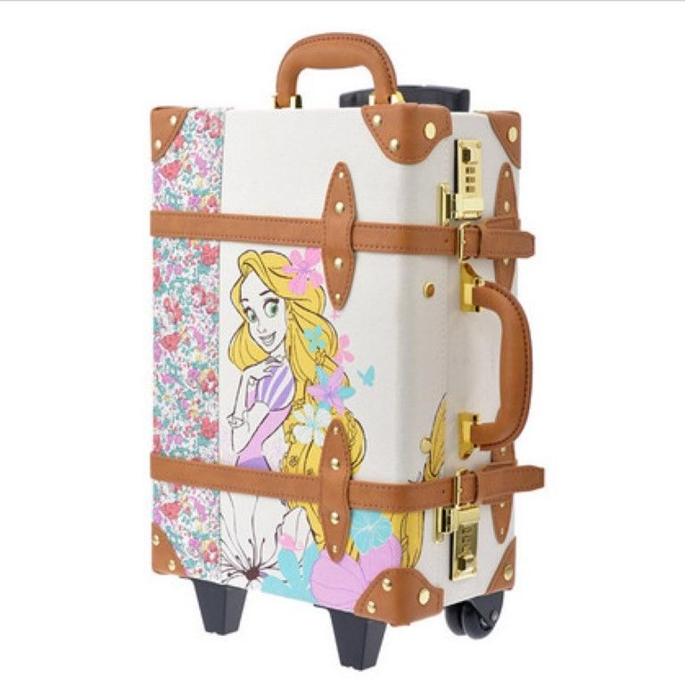 81edeb4a311ef Disney Store Trolley Happily ever after Rapunzel carry bag suitcase Kawaii  Japan #Disney