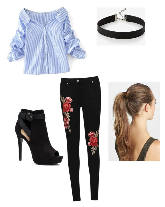 """""""Tonight, tonight"""" by avalee-kelley on Polyvore featuring WithChic, Apt. 9, WearAll, Express and France Luxe"""