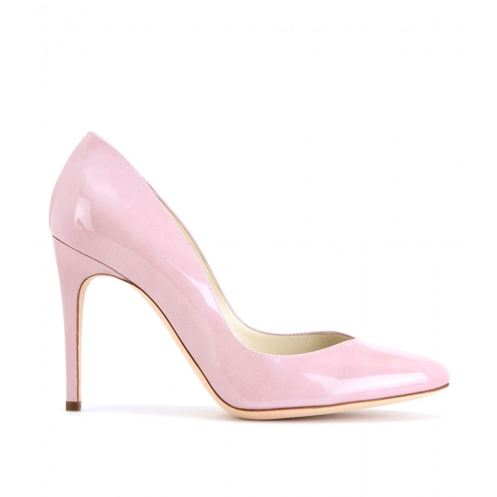 Rupert Sanderson - WINONA PATENT LEATHER PUMPS Light Pink | If The