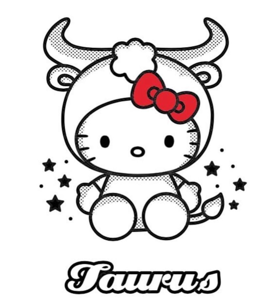 Hello Kitty Taurus Hello Kitty Tattoos Hello Kitty Pictures Kitty