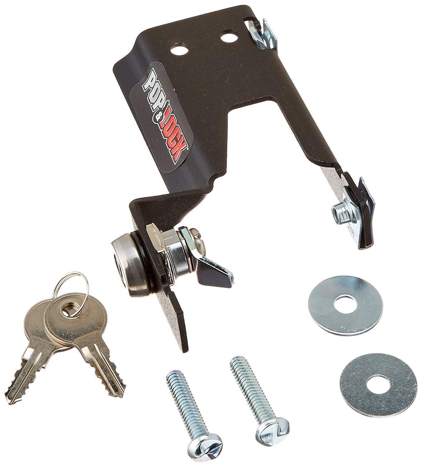 Pop and Lock PL1600 Black Manual Tailgate Lock for Chevy