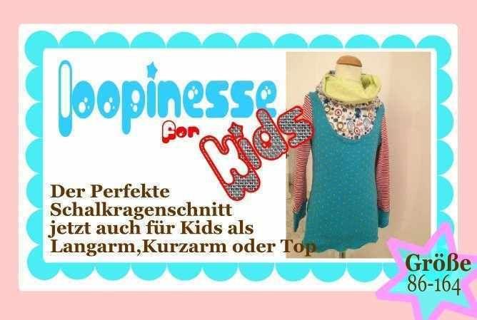 E-book shirt loopinesse - Schalkragenschnitt für Kids - 4.90 euro
