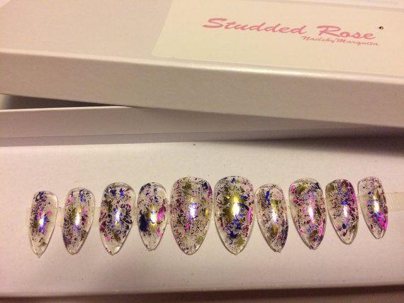 Confetti custom designer press on nails any shape and size nail confetti custom designer press on nails any shape and size prinsesfo Choice Image