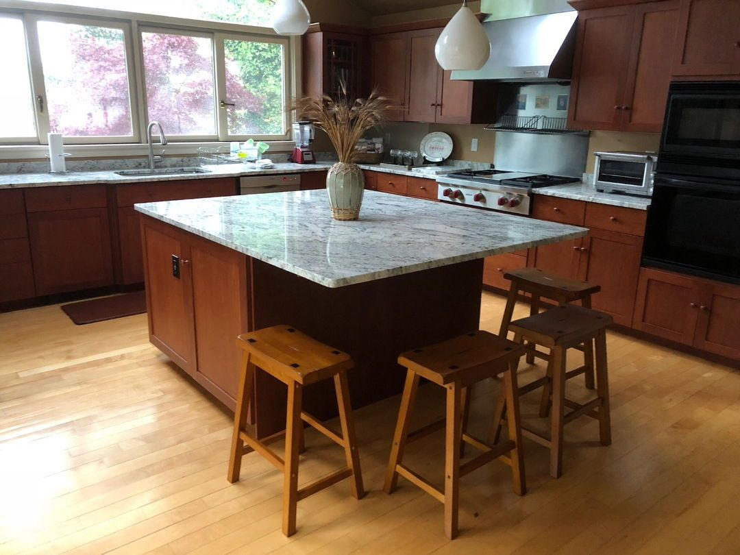 Hidden Island Support Bracket Kitchen Remodel Countertops