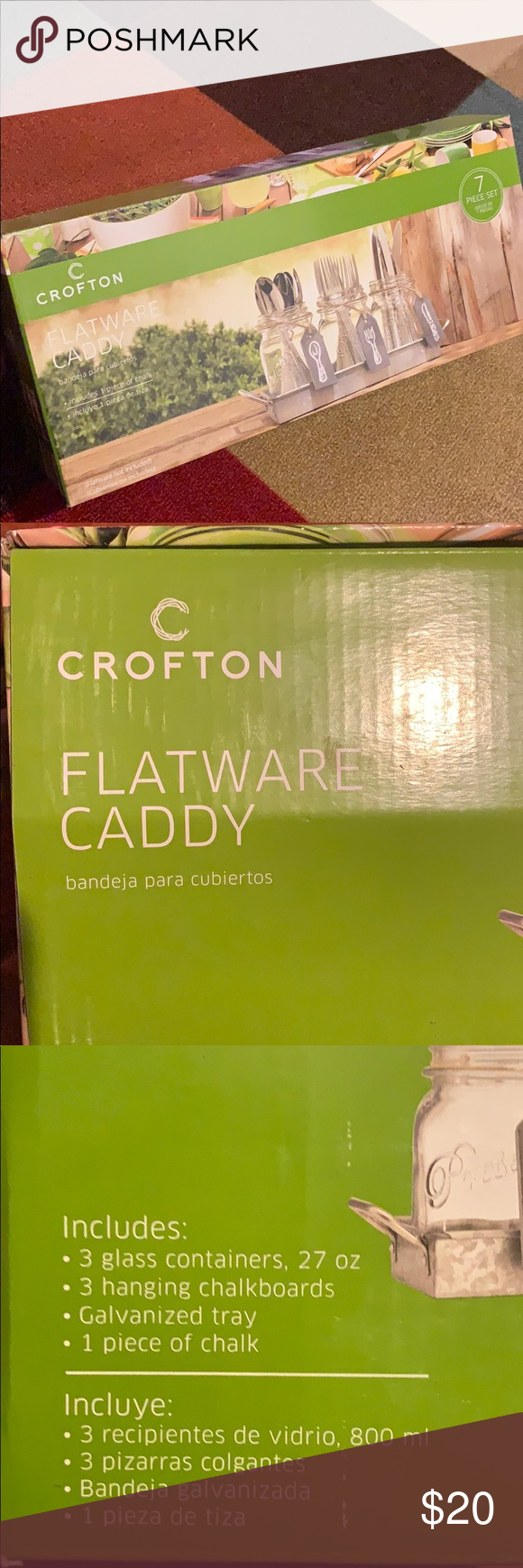 Crofton Flatware Caddy Nwt Flatware Caddy Crofton Caddy
