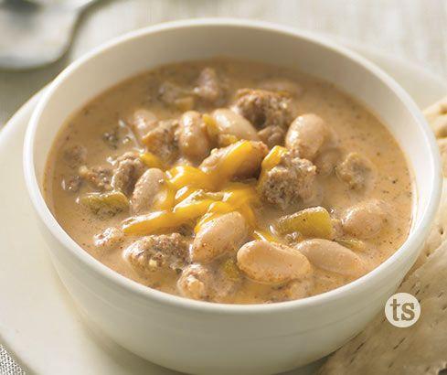 White Bean Turkey Soup