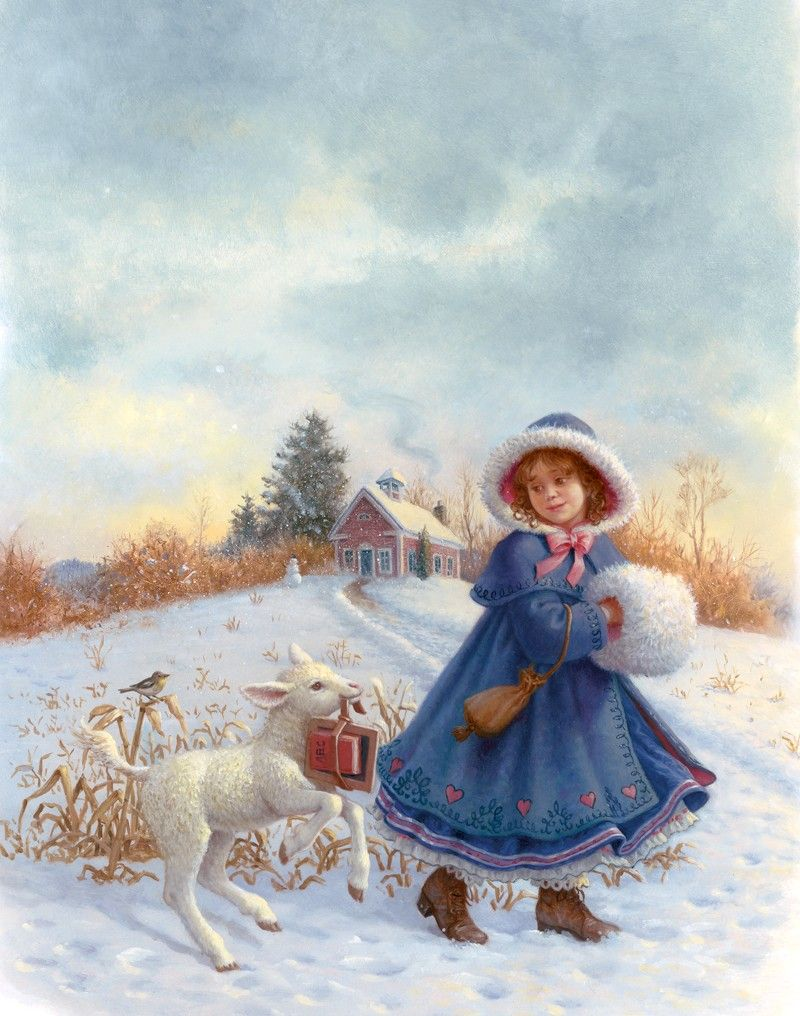Ruth Sanderson  Mary Had A Little Lamb