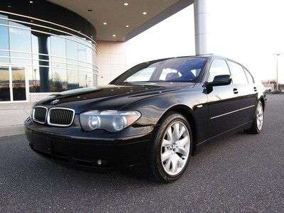 2004 Bmw 745li Sport Pkg Black Rare Interior Loaded Stunning Price 12050 Make Model 7 Series Condition Used Mileage 130324 Engine 8 Location