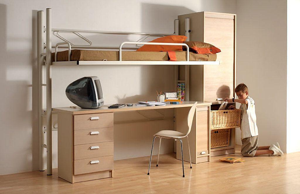 Planos de litera en pinterest conjuntos de dormitorio - Litera con sofa debajo ...
