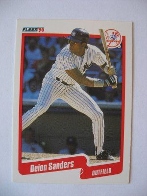 Deion Sanders Rookie Card Baseball Cards For Sale Baseball Cards Baseball
