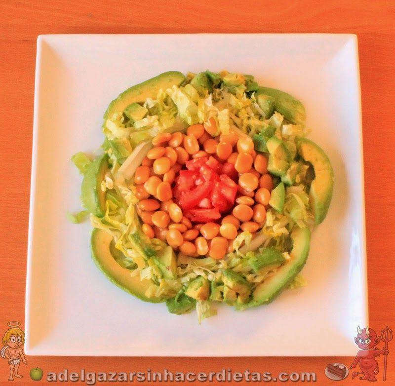 Con video receta saludable de ensalada de altramuces - Ensaladas con pocas calorias ...