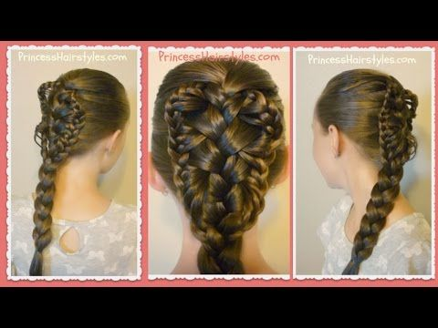 Stingray Braid Hairstyle Tutorial Hairstyles For Girls Princess Hairstyles Braided Hairstyles Tutorials Hair Styles Hair Tutorial
