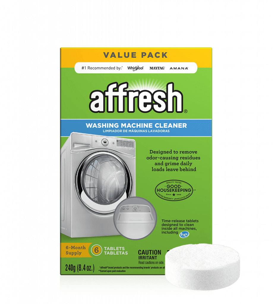Washing Machine Cleaner Tablets - 6 Count   affresh® in ...