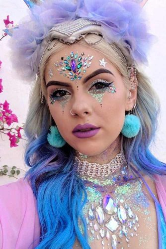glitter fairy makeup Google Search Fairy makeup