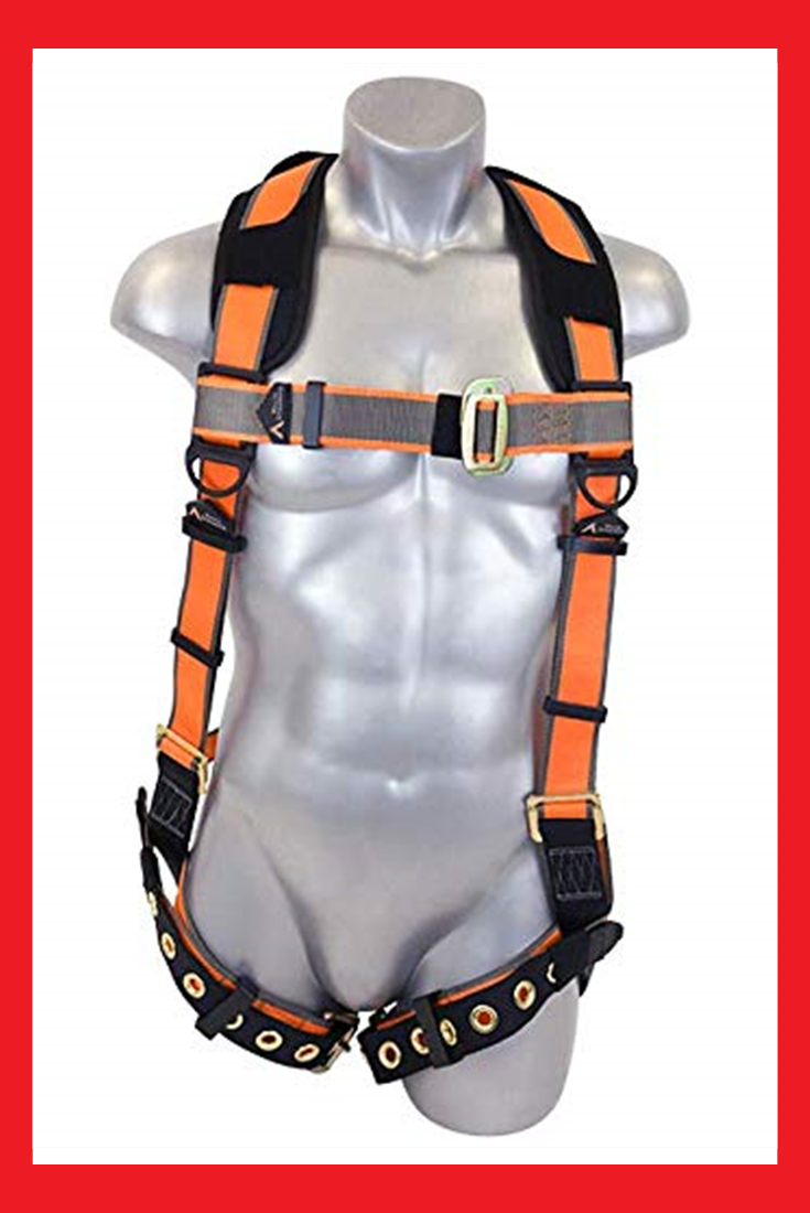 Warthog Full Body Harness with Tongue Buckle Legs & XPad