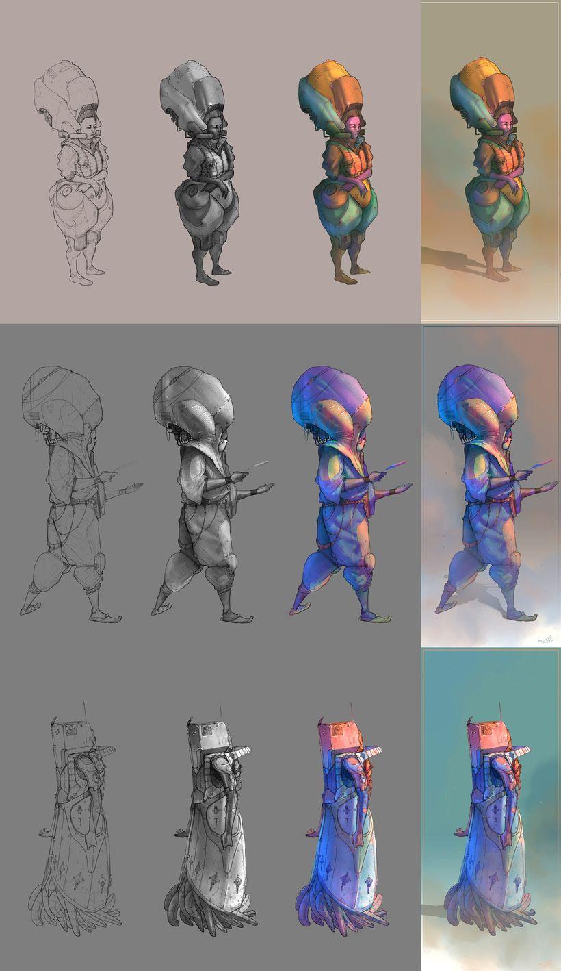 Coloring process / proceso de Coloreado  0