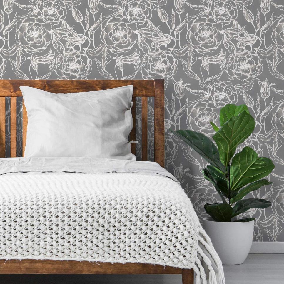 21 Beautiful Removable Wallpaper Designs Renters Should Know About Removable Wallpaper Best Removable Wallpaper Temporary Wallpaper