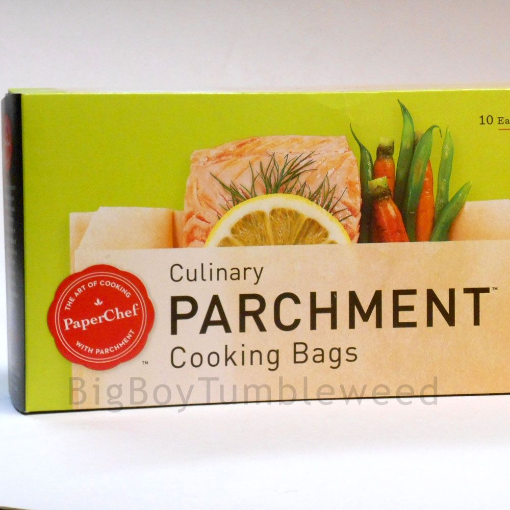Paperchef Culinary Parchment Cooking Bags Steamer Seafood Veggies Nonstick Liner