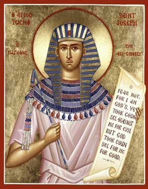 Image result for icon of Joseph, Patriarch