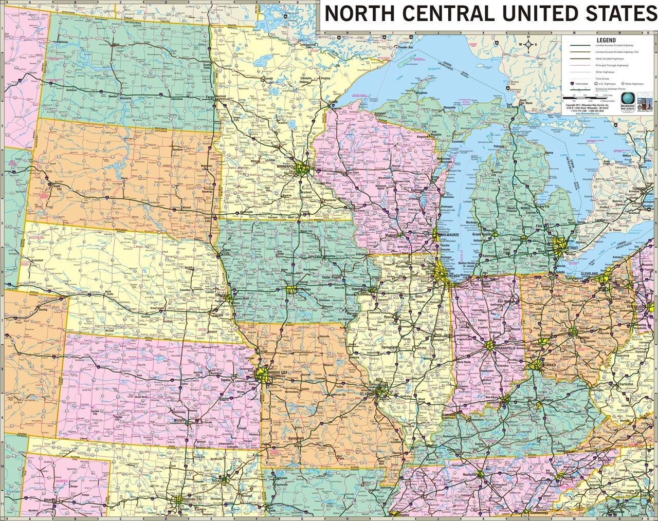 USA Road Map Thempfaorgwpcontentuploadsusmaphigh Best - Map of south central us