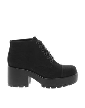 Vagabond Dioon Black Ankle Boots   Boho Chic   Casual Grunge- Pieces ... 5f8c24aa19