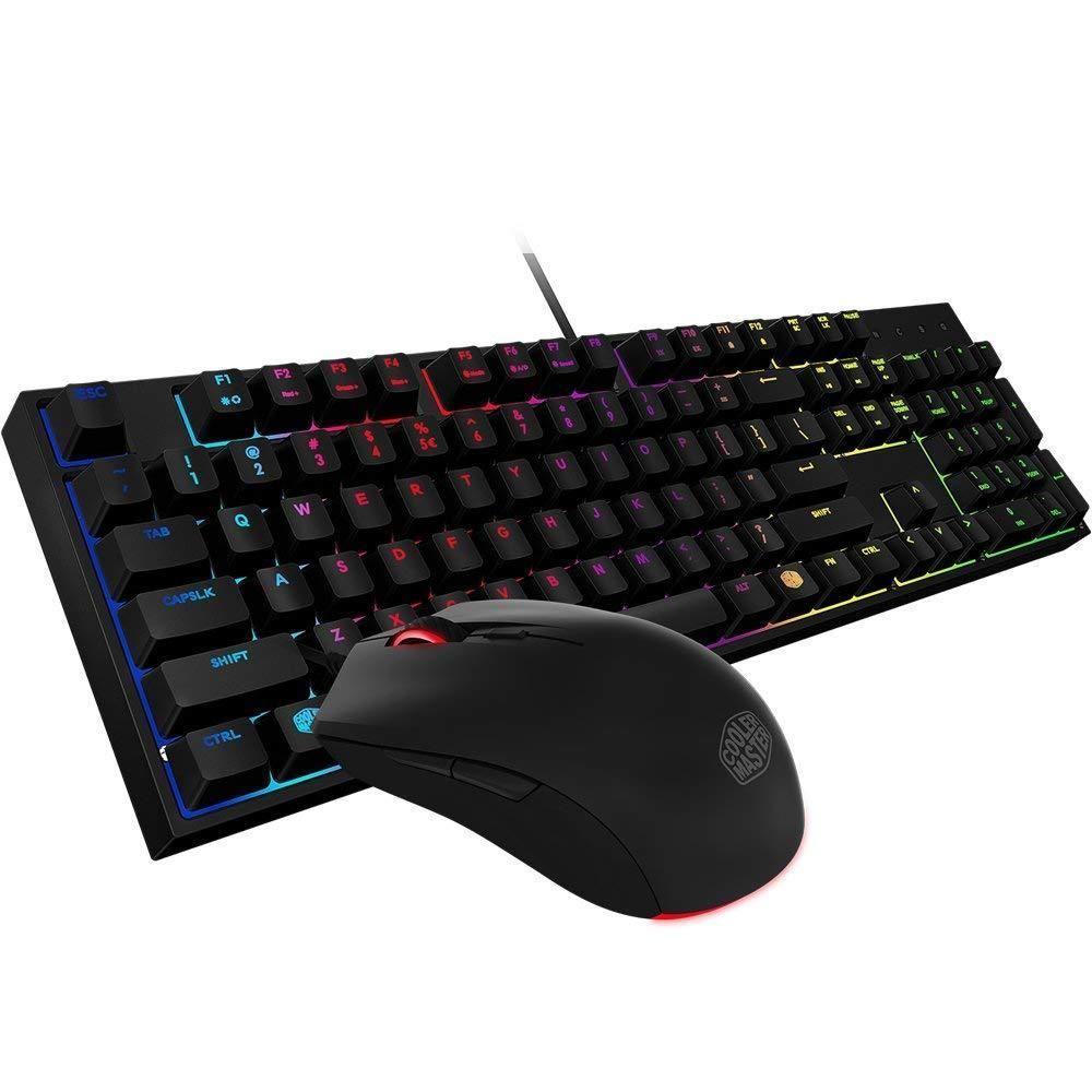Cooler Master Co Ltd Sgb 3040 Kkmf1 Us Masterkeys Lite L Combo Rgb Razer Anansi Mmo Gaming Keyboard Rz03 00550100 R3m1