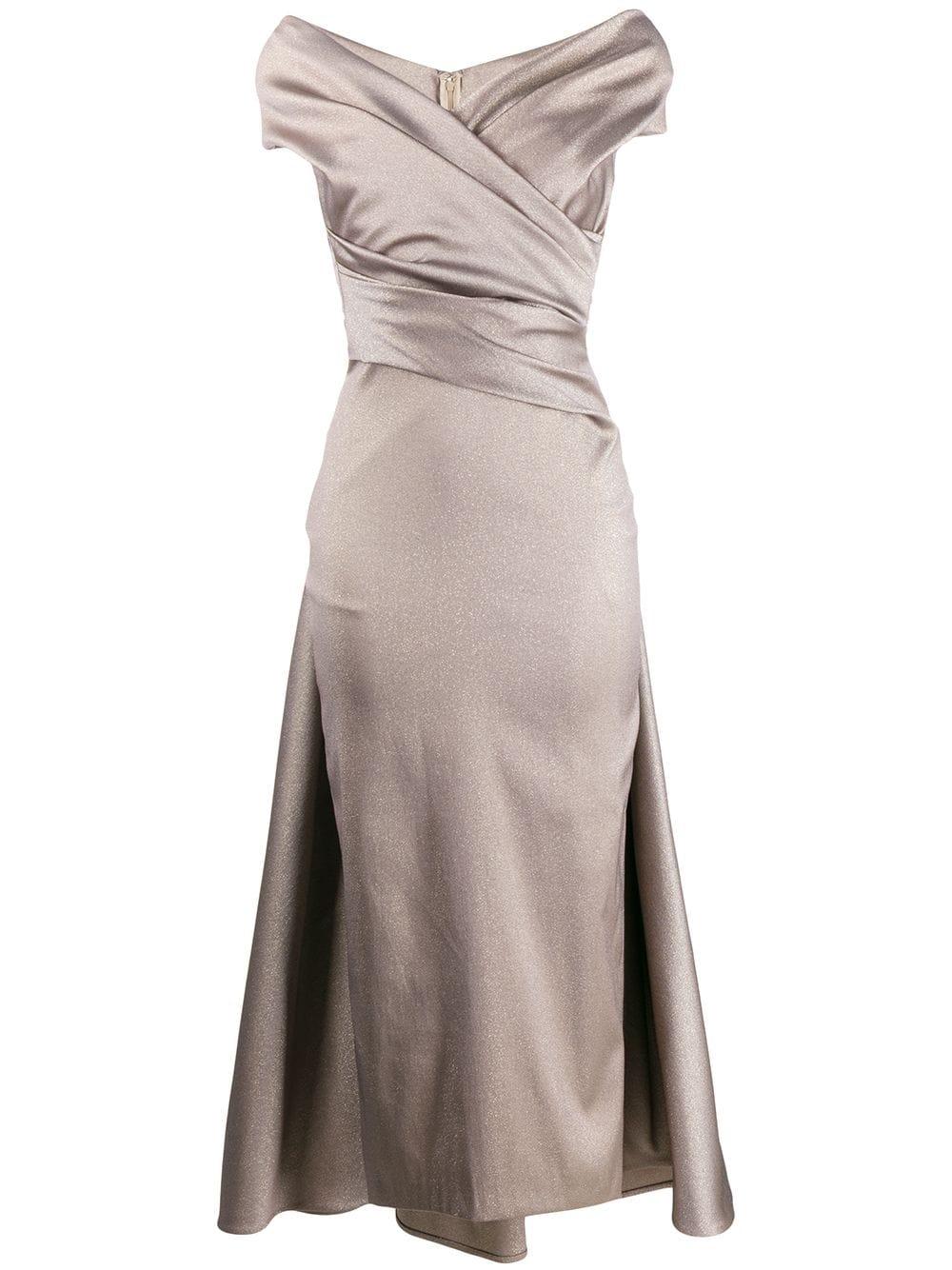 Talbot Runhof Tolsar Dress In Gold  ModeSens in 15  Dresses