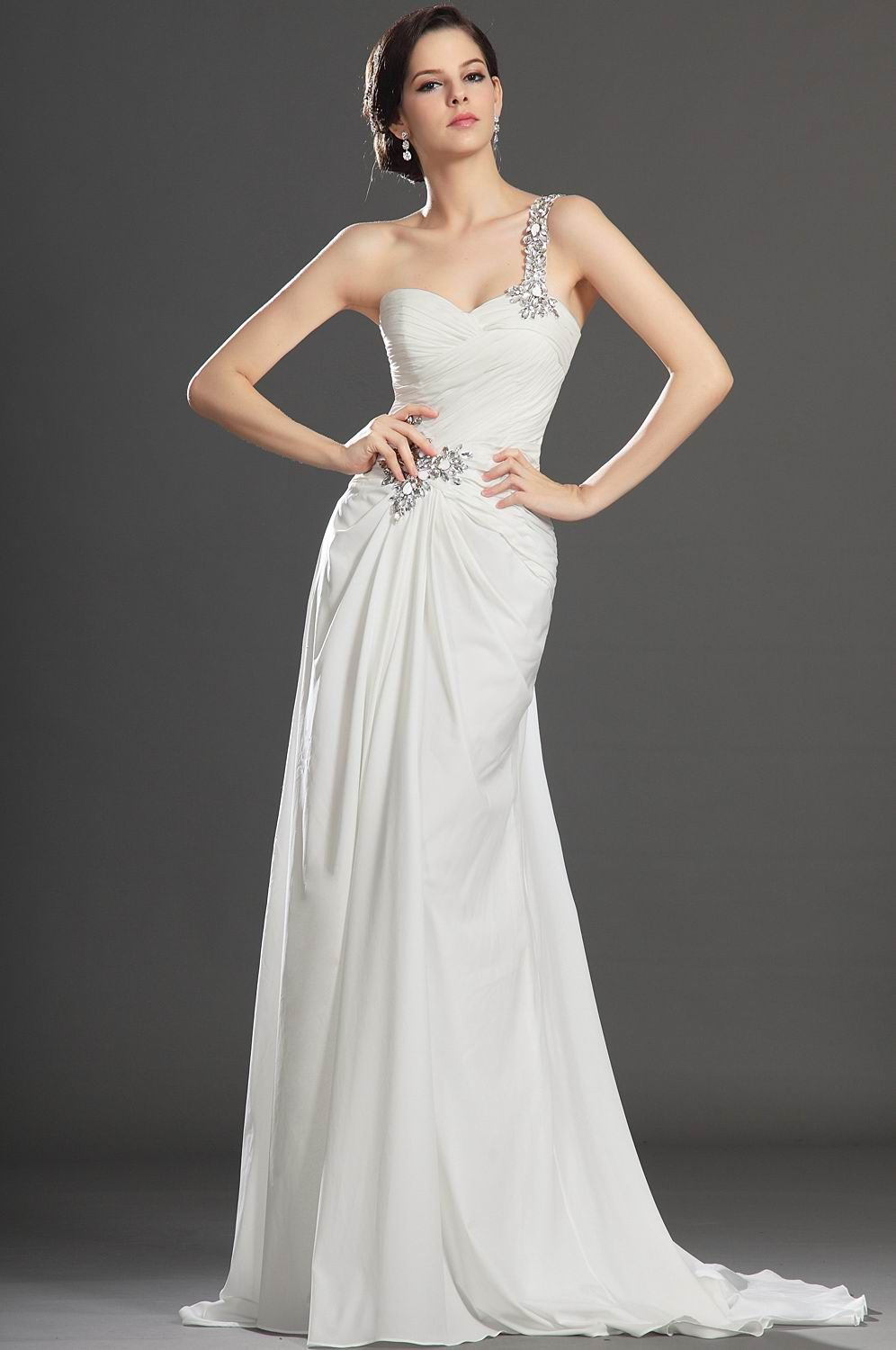 Floor-Length-White-Long-party-Dresses | All White Party Dress ...