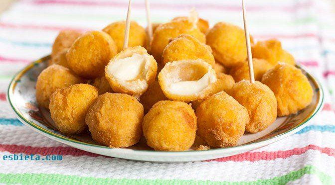 Croquetas de mozzarella ¡sin bechamel!