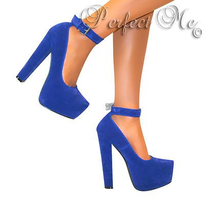 blue heels - Google Search